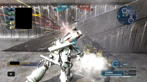 ガンダム バトル オペレーション 2 攻略 バトオペ2 攻略 2回格闘する方法 格闘連撃制御