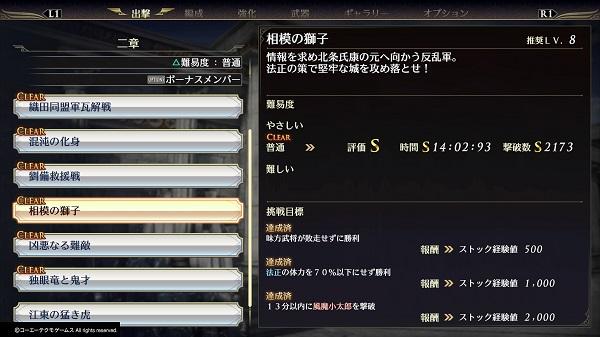 呂布 無双 orochi3 無双OROCHI2 Ultimate【攻略】全キャラ強さランク付け(8)